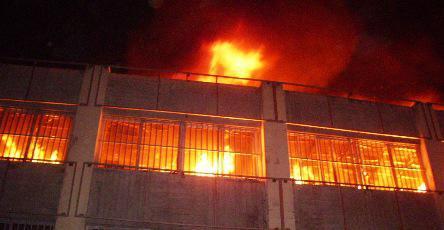 incendie grand marché de Lomé